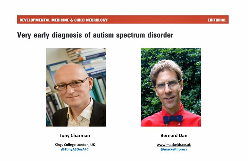 DMCN: Very early diagnosis of autism spectrum disorder
