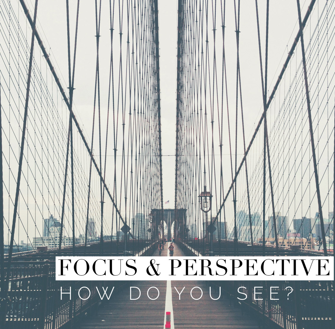 Focus & Perspective - How do you see?