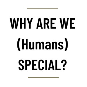 MS68 - Why are we (Humans) special?