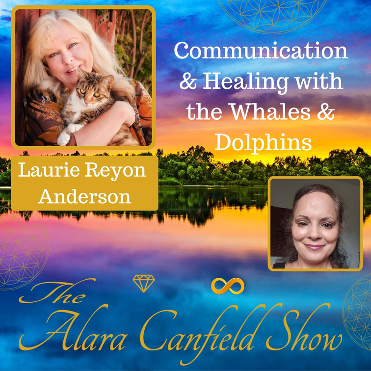 Communication and Healing with the Whales and Dolphins with Laurie Reyon Anderson