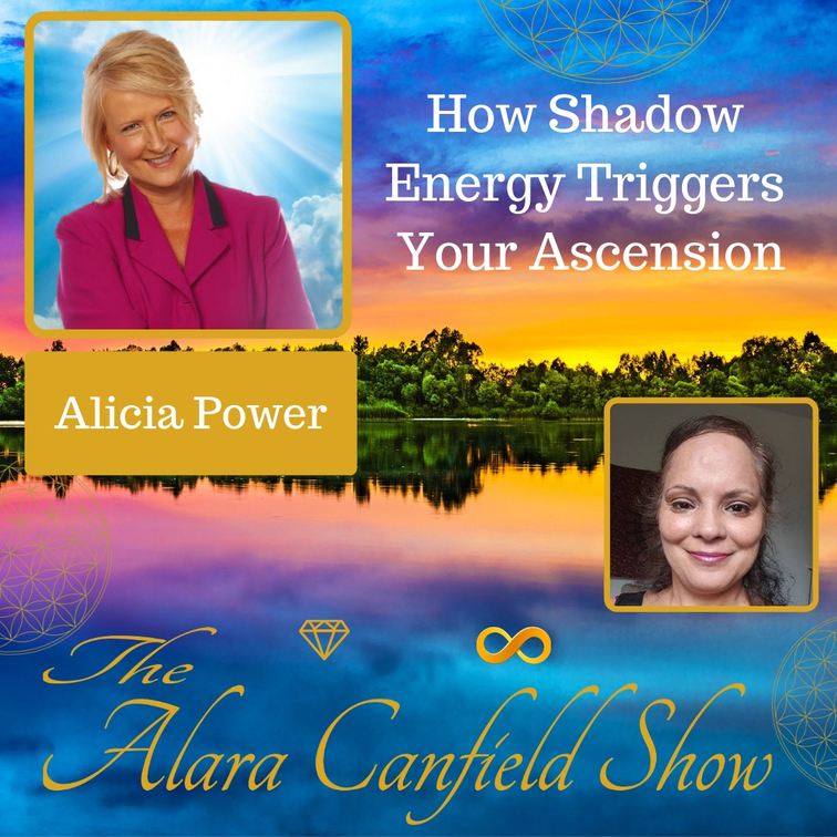 How Shadow Energy Triggers Your Ascension with Alicia Power