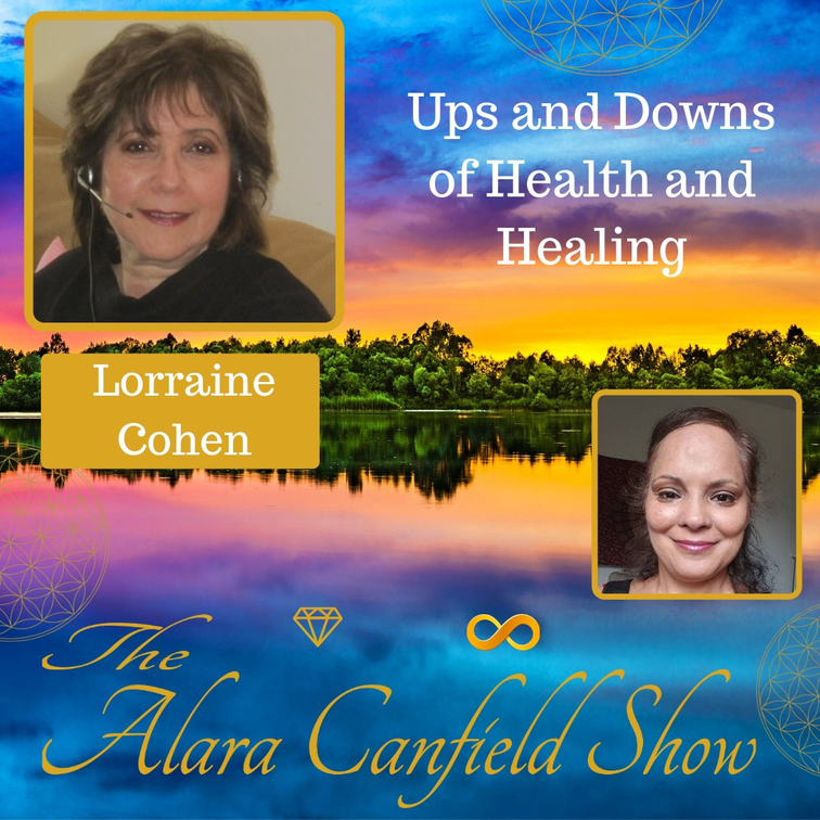 Ups and Downs of Health and Healing with Lorraine Cohen