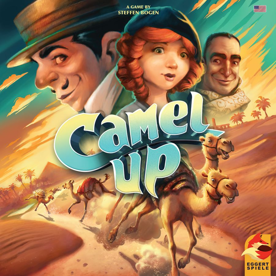 Camel Up (2018) Review & 1st Edition Comparison Battle of the games