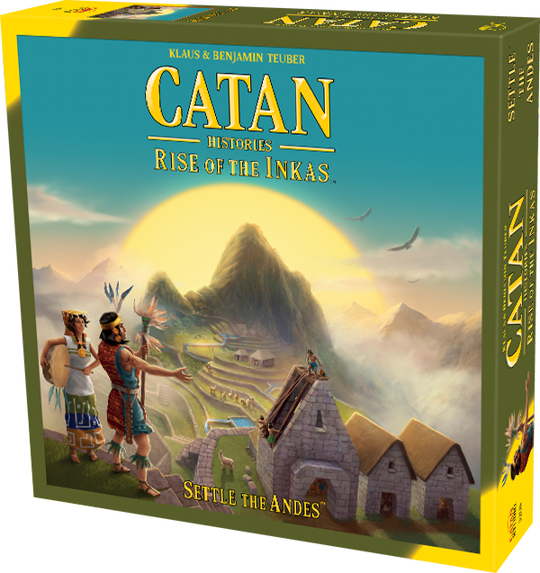 Catan: Histories Rise of the Inkas Review with the Game Boy Geek