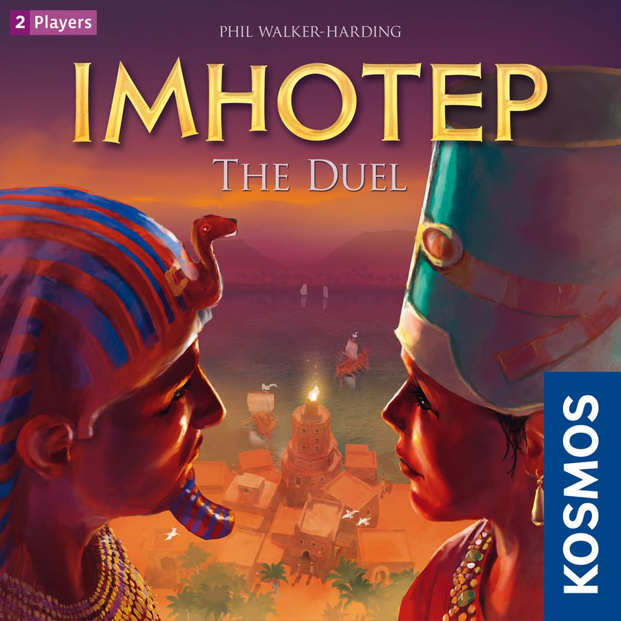 Imhotep the Duel Review with the Game Boy Geek