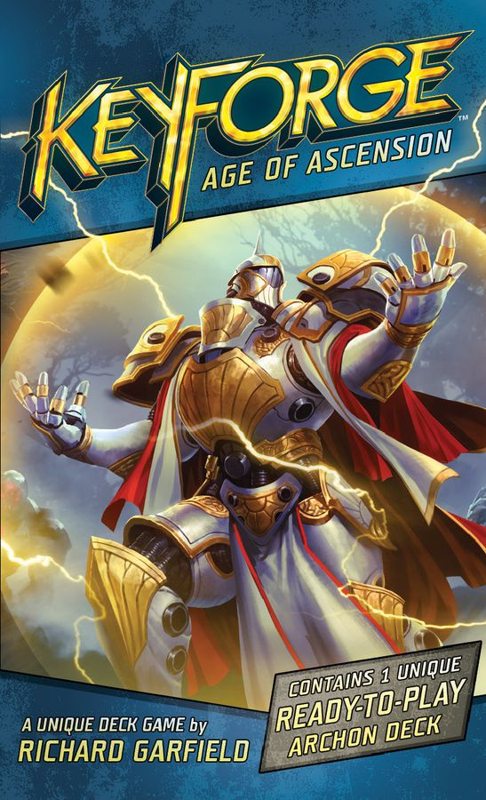 Keyforge: Age of Ascension Decks - What's New & Review with the Game Boy Geek