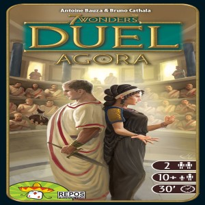 7 Wonders Duel: Agora Review with the Game Boy Geek