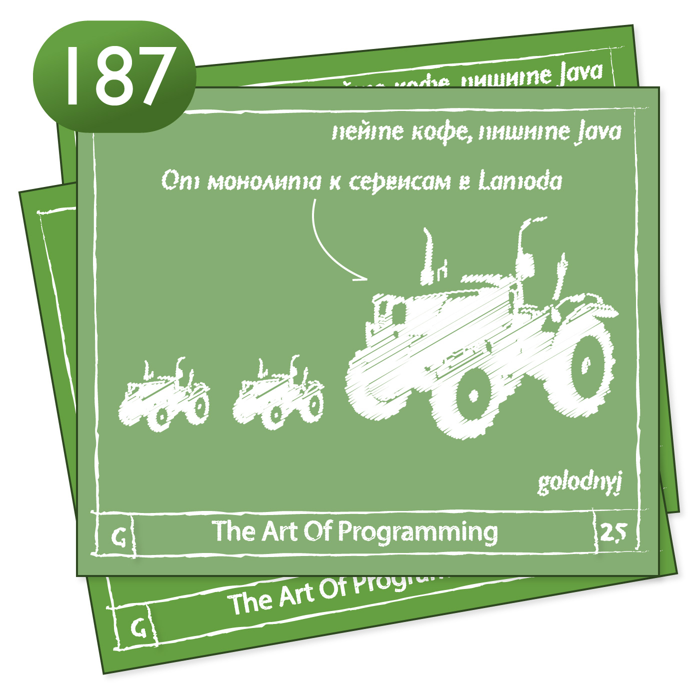 187 От монолита к сервисам в Lamoda — The Art Of Programming [ Highload ]