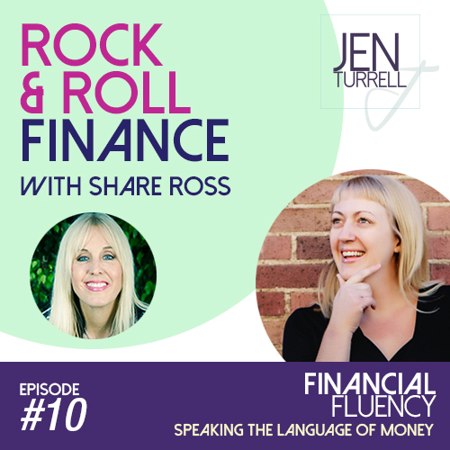 Episode #10: Rock n Roll Finance with Share Ross