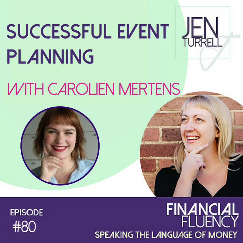 Episode #80 Successful Event Planning with Carolien Mertens