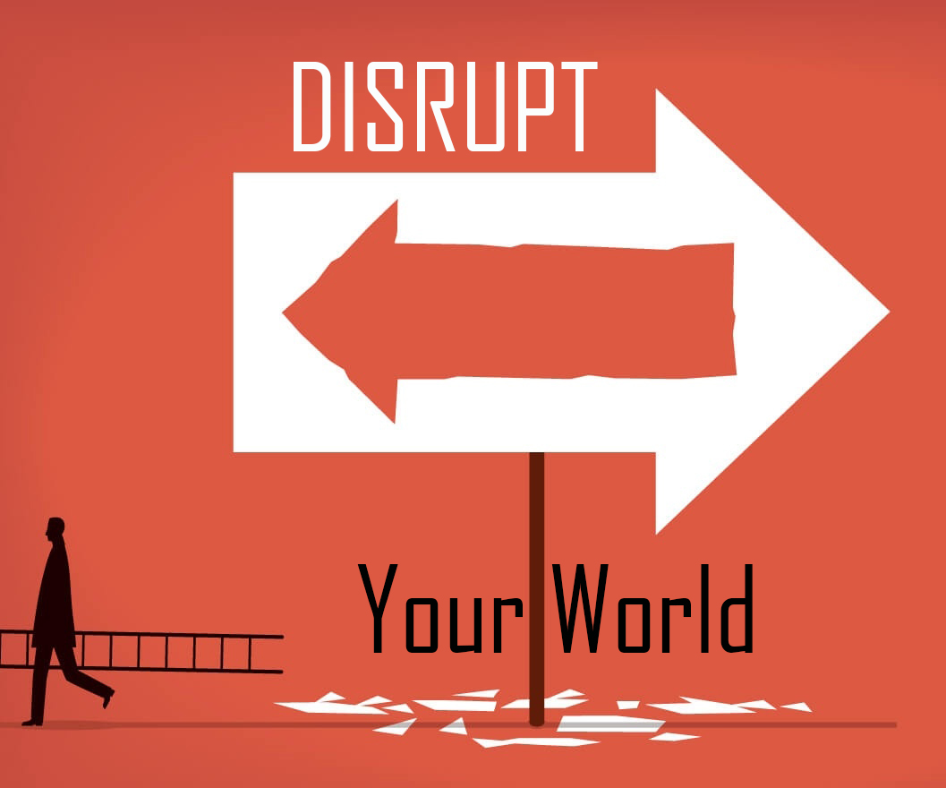 Disrupt Your World: Clothed With Power by Glenn Berry