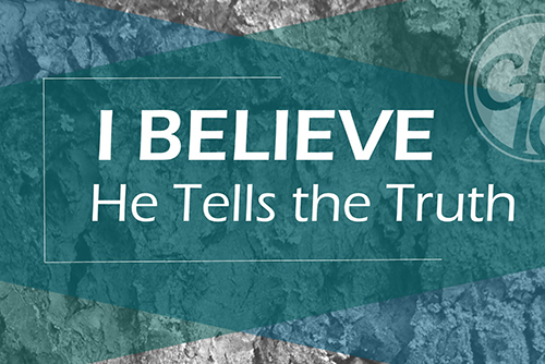 I Believe He Tells the Truth by Mark Drake