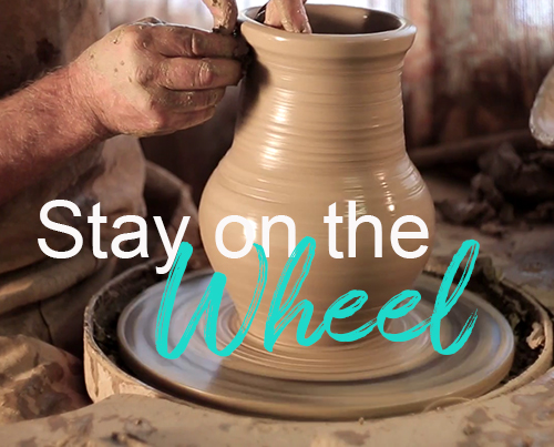 Stay on the Wheel by Mary Hodges