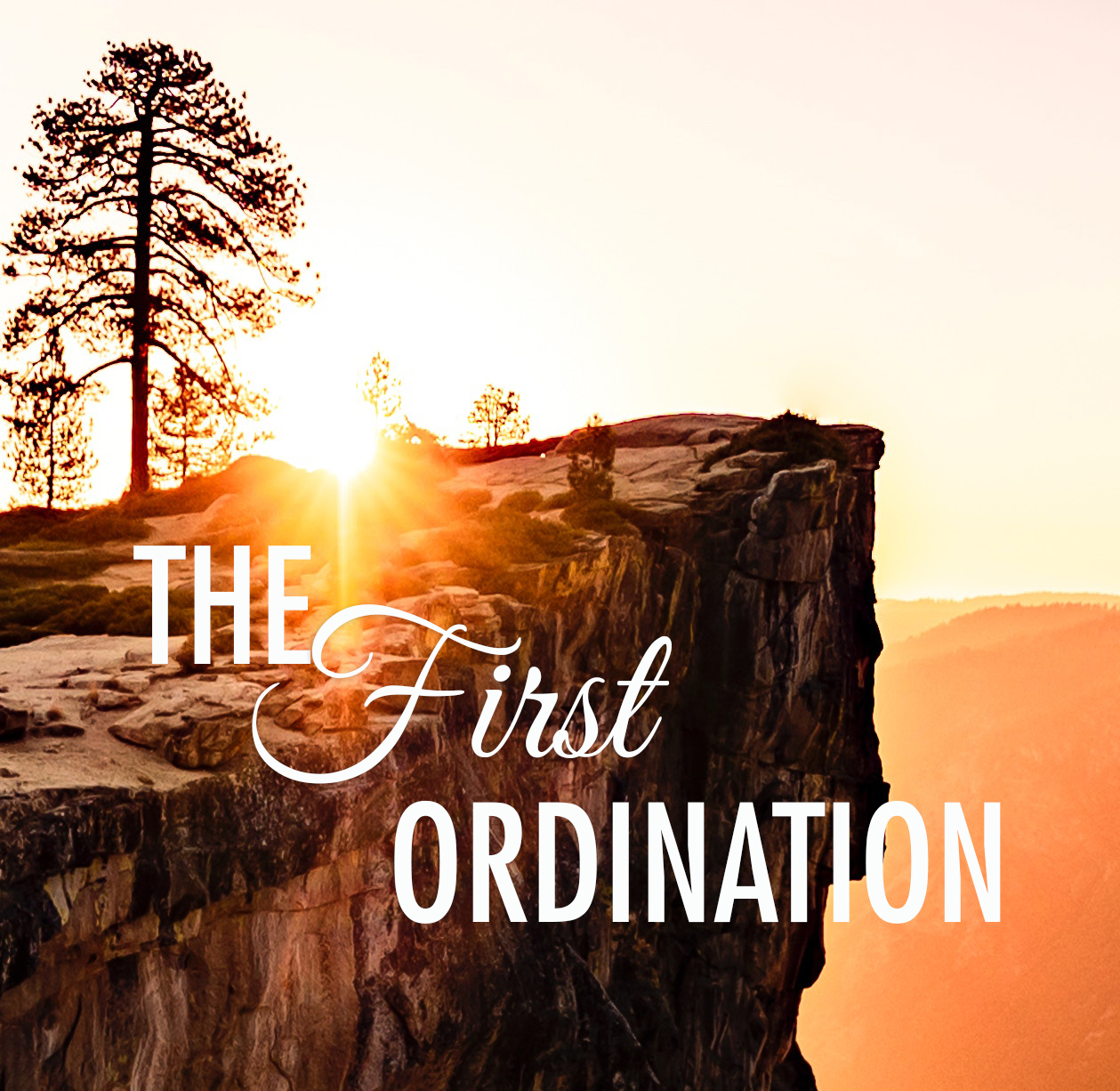The First Ordination by Glenn Berry
