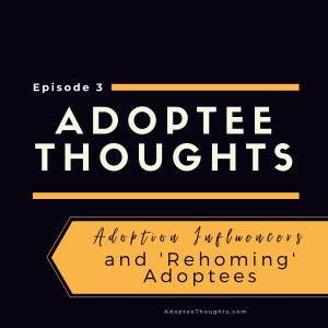 Adoption Influencers and 'Rehoming' Adoptees