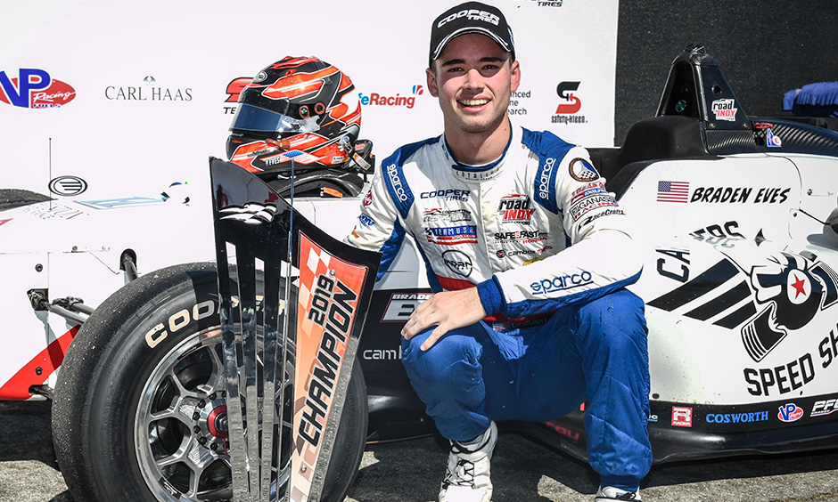 Road to Indy Spotlight: USF2000 2019 Champion Braden Eves
