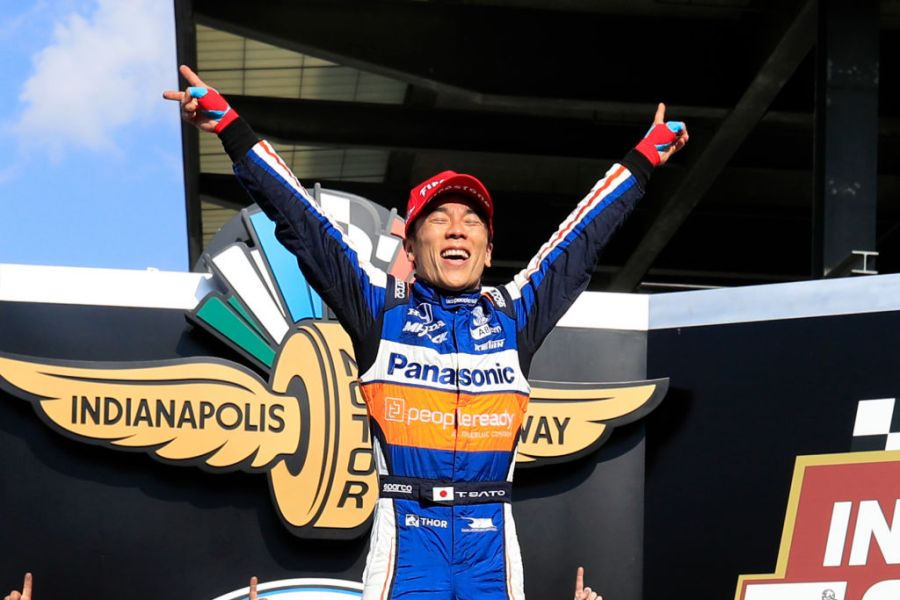 Takuma Sato is a Two Time Indianapolis 500 Champion!