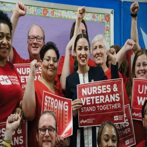 National Nurses union rumbles for Green New Deal