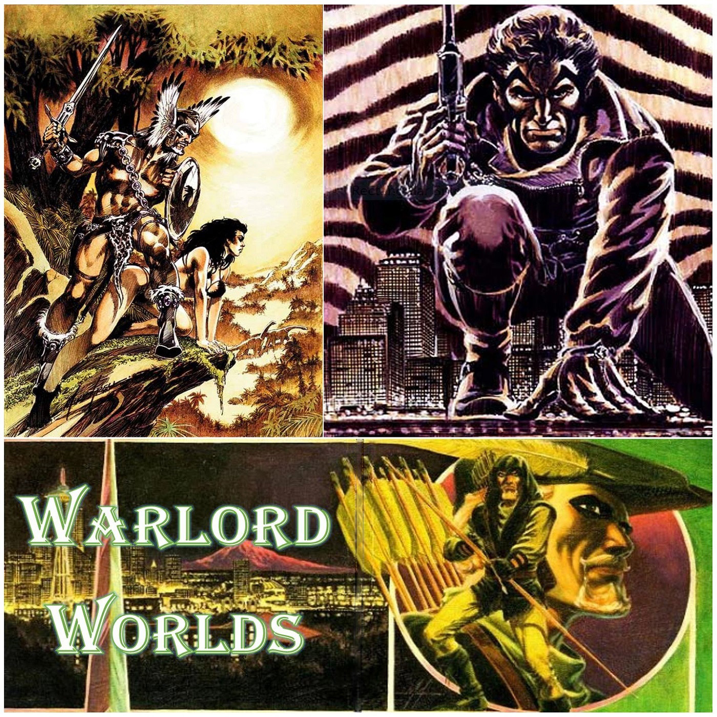 Warlord Worlds Episode 15: Mike Grell and the 30th Anniversary of The Longbow Hunters