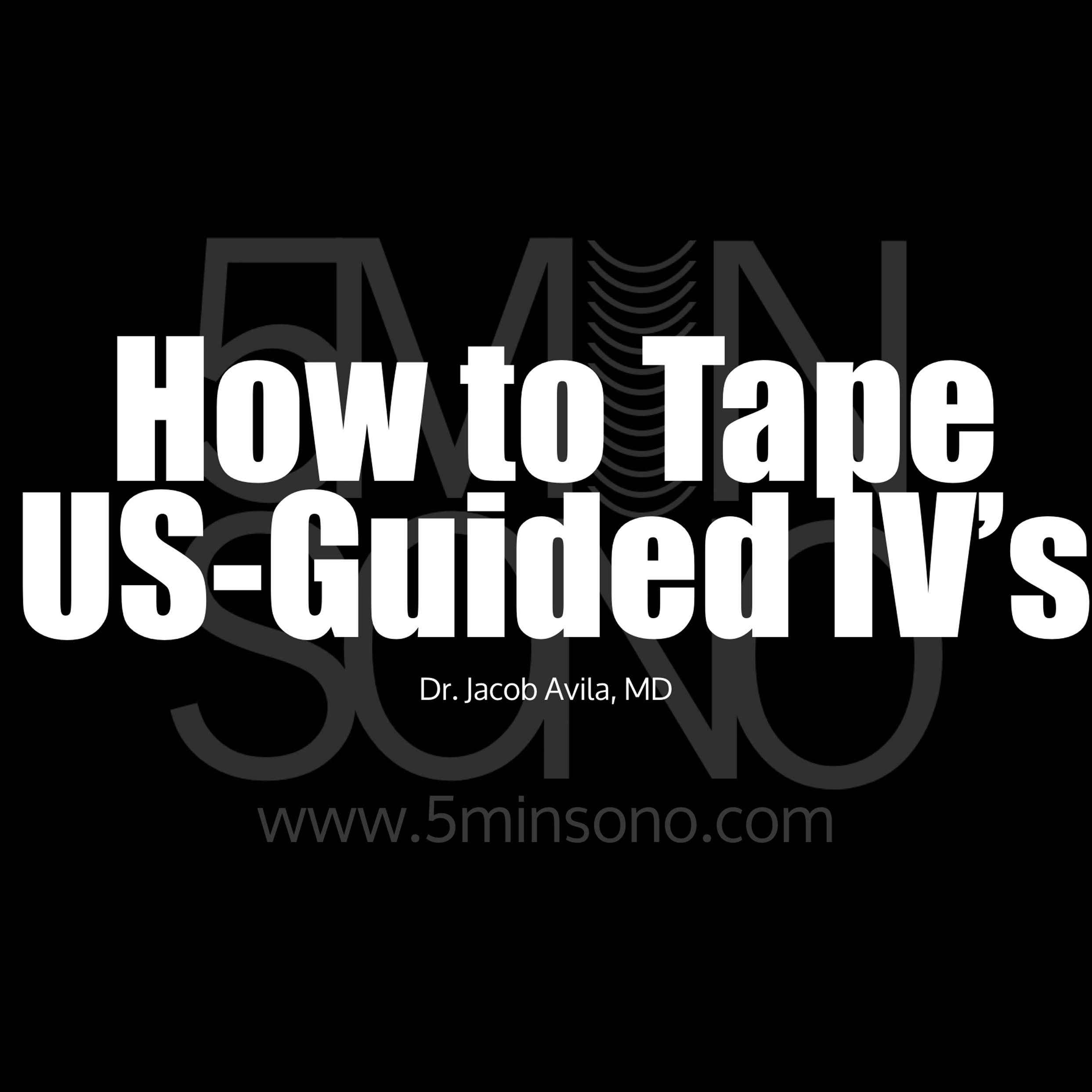How to Tape IV's