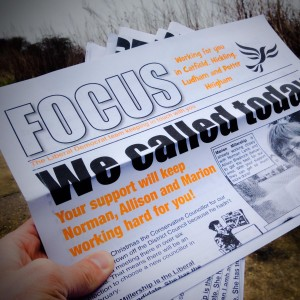 How are political leaflets changing (and do they work)?