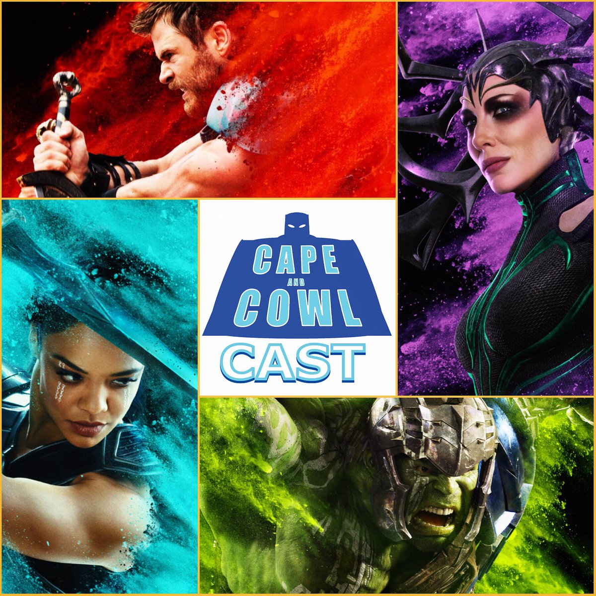 Cape and Cowl Cast #85 - Thor: Ragnarok Review Special