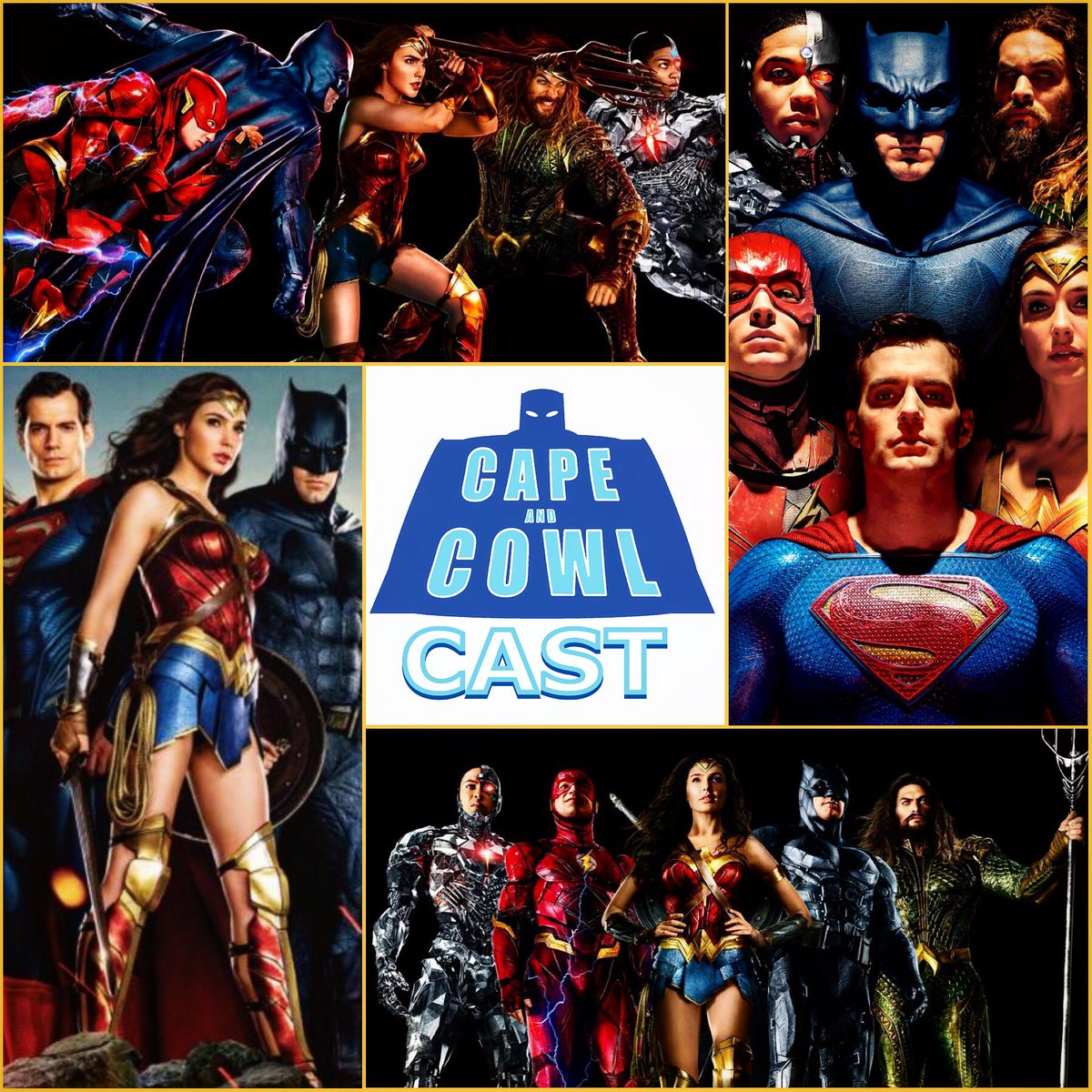 Cape and Cowl Cast #86 Justice League Review