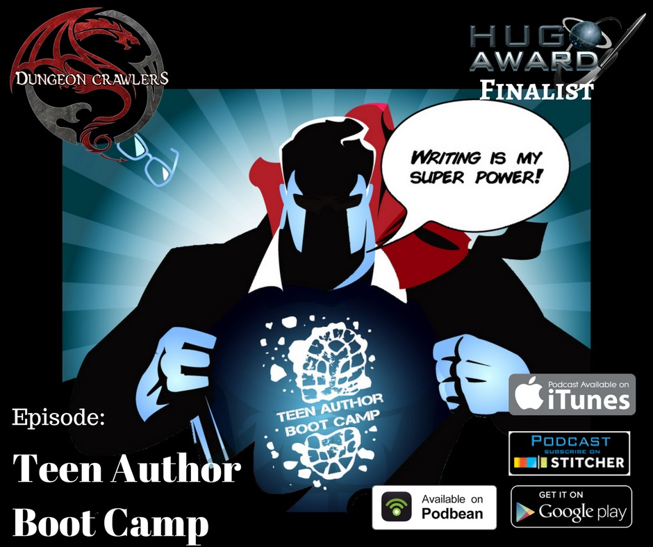 Teen Author Boot Camp 2017