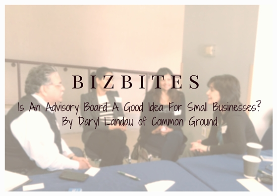 Is An Advisory Board A Good Idea For Small Businesses?