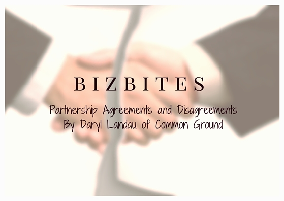 Partnership Agreements and Disagreements