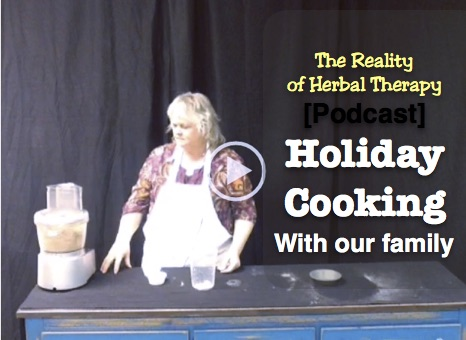 Holiday Cooking with our family