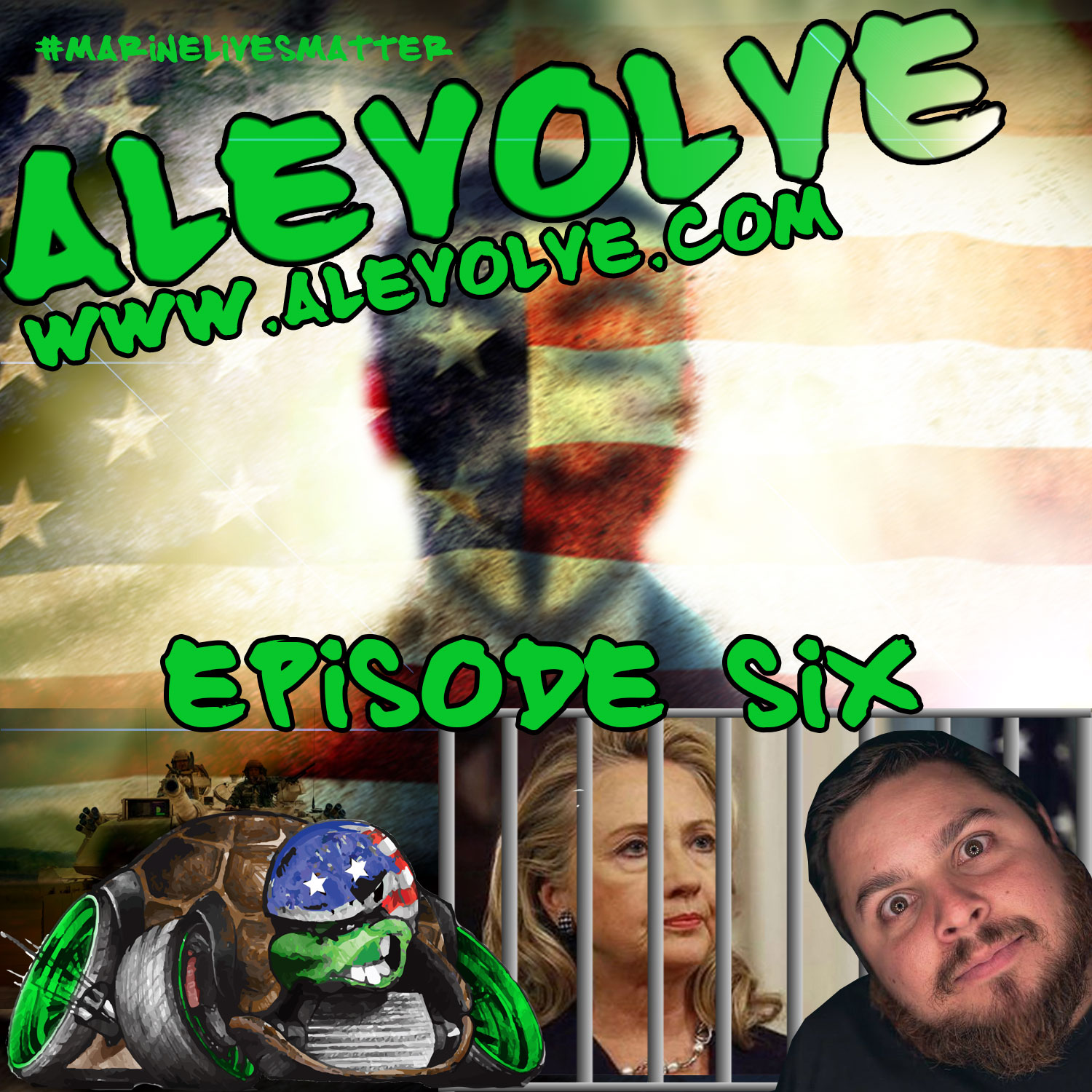 ALEVOLVE RADIO! Episode 6 - #Marinelivesmatter, MEMETASTIC, Anonymous, Hillary4Prison, Hate today