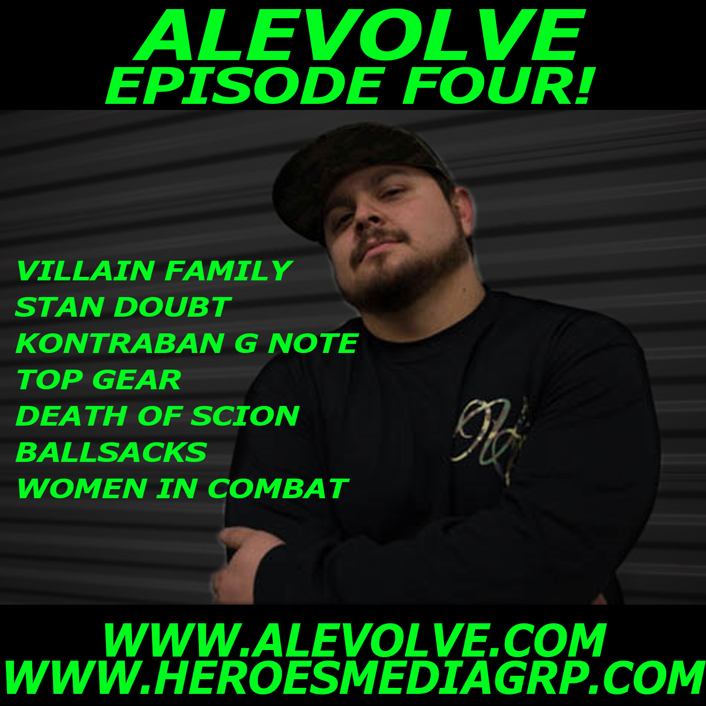 ALEVOLVE RADIO! Episode 4 - Top Gear, Scion, Balls Sacks, Stressed Out, Women in Combat