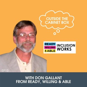13: Don Gallant with Ready, Willing & Able