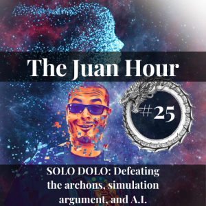 The Juan Hour #25   SOLO DOLO: Defeating the archons, simulation argument, and A.I.