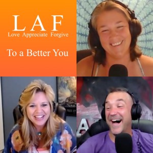 LAF with Us, #6 - Dealing with Trauma with Noelle Dodge, Sharon Sillen & James John