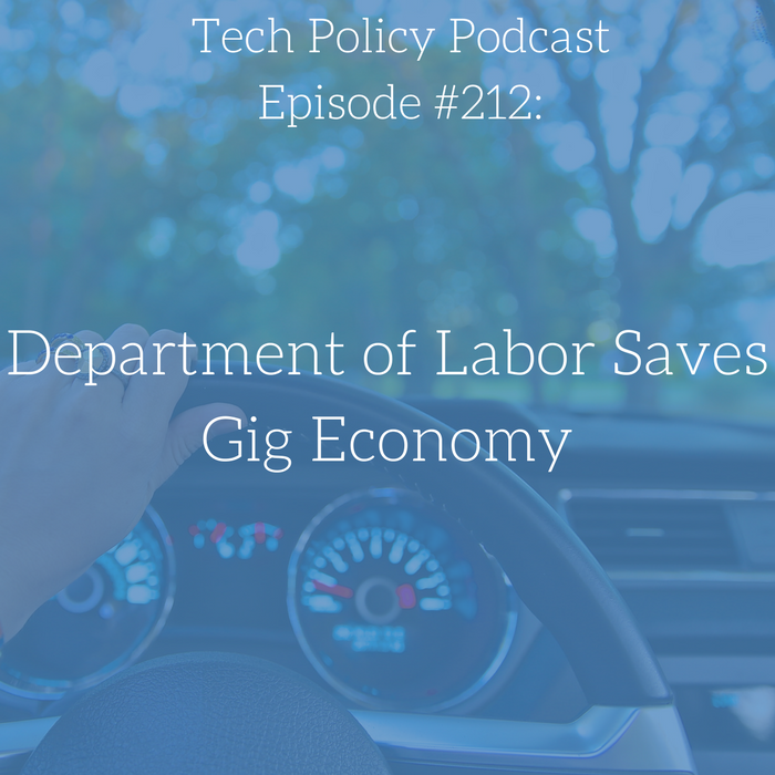 #212: Department of Labor Saves Gig Economy