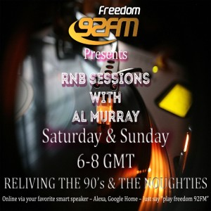 R&B Sessions with Al Murray - Saturday 26th September