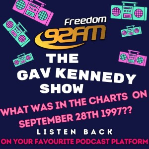 The Gav kennedy Show - Chart Countdown from September 28th 1997