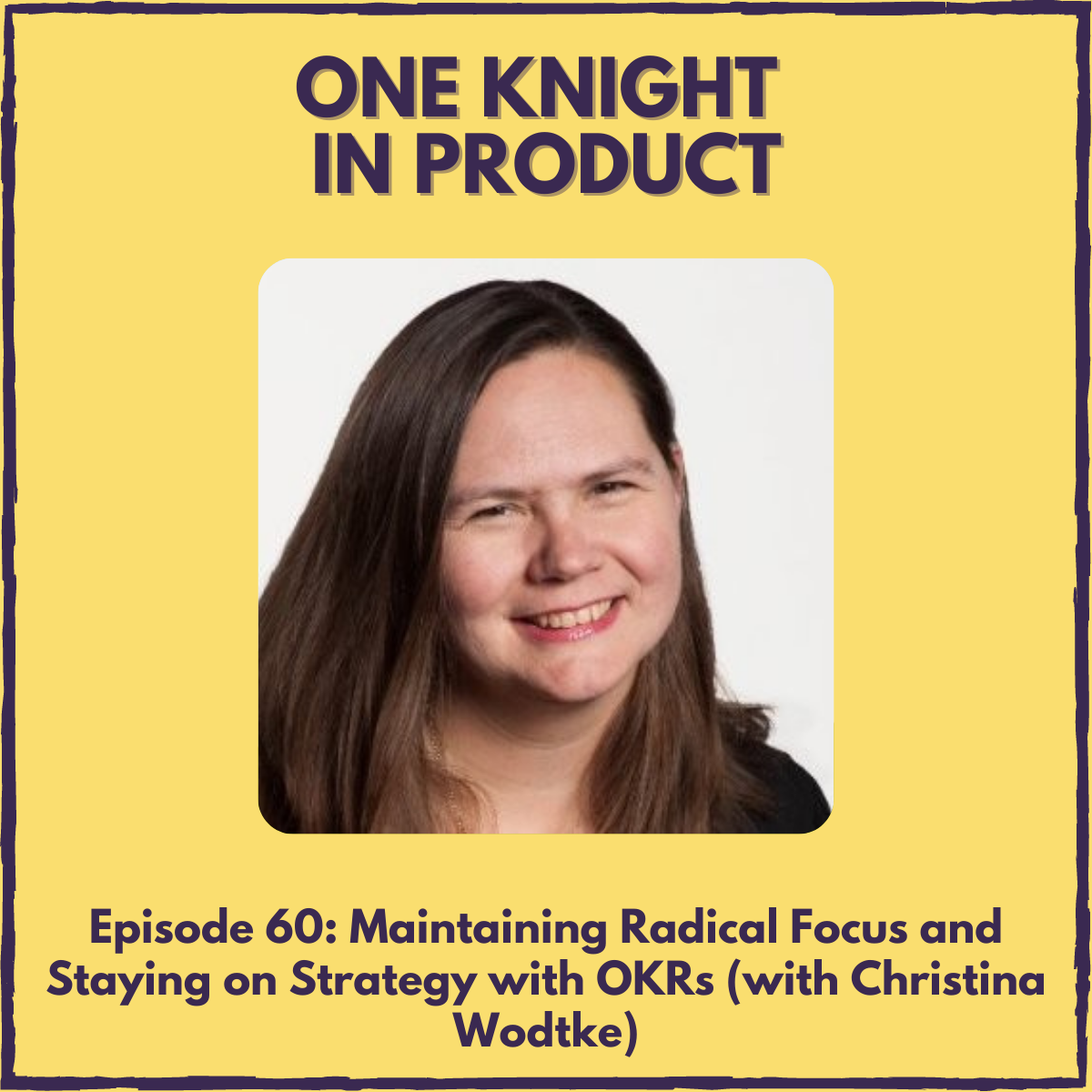"""Maintaining Radical Focus and Staying on Strategy with OKRs (with Christina Wodtke, Author """"Radical Focus"""" & """"The Team That Managed Itself"""")"""