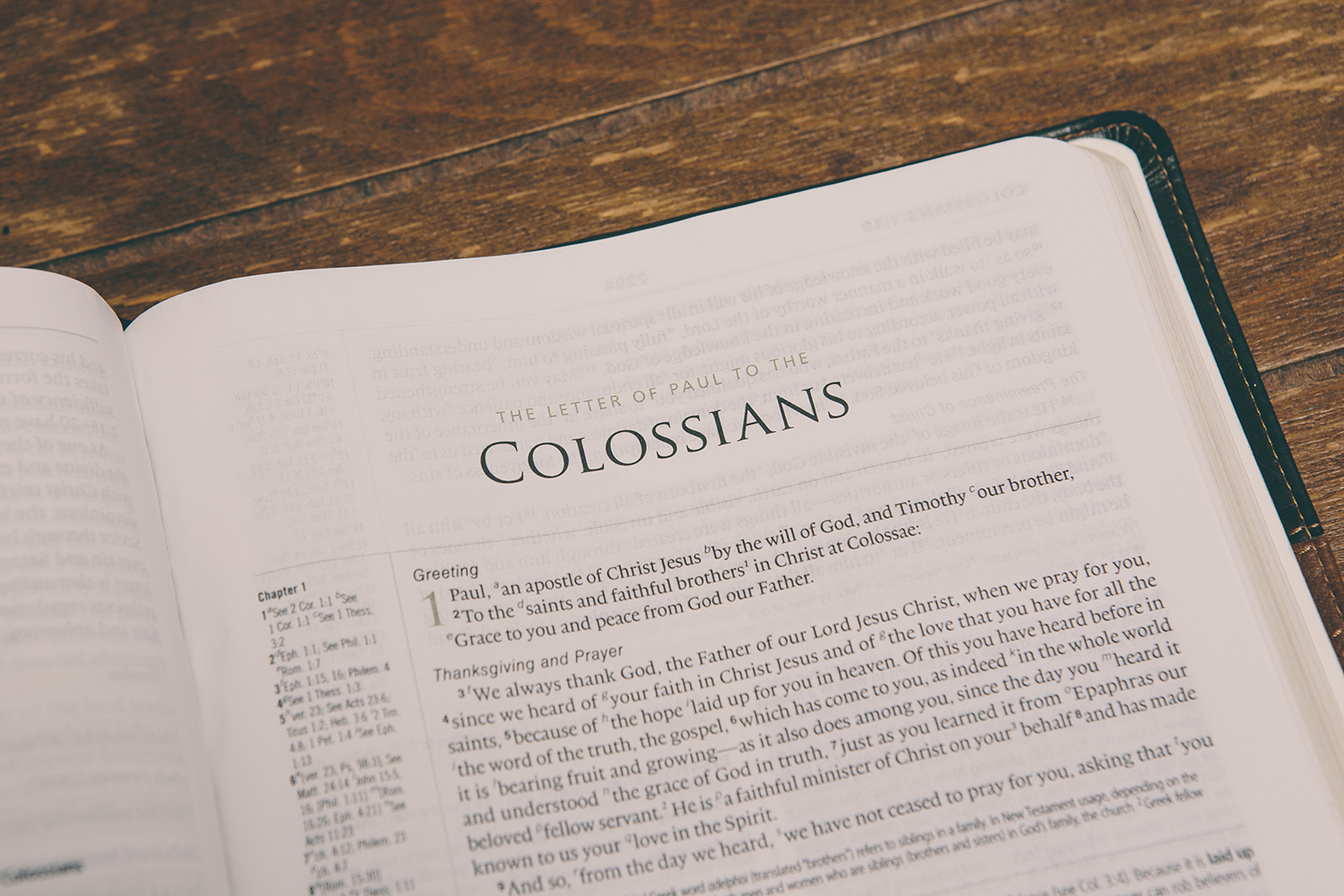 "Colossians - Lesson 1 ""Complete in Christ"""