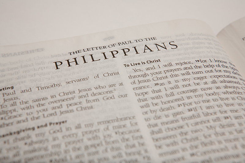 "Philippians - Lesson 16 ""Content In Every Circumstance"""