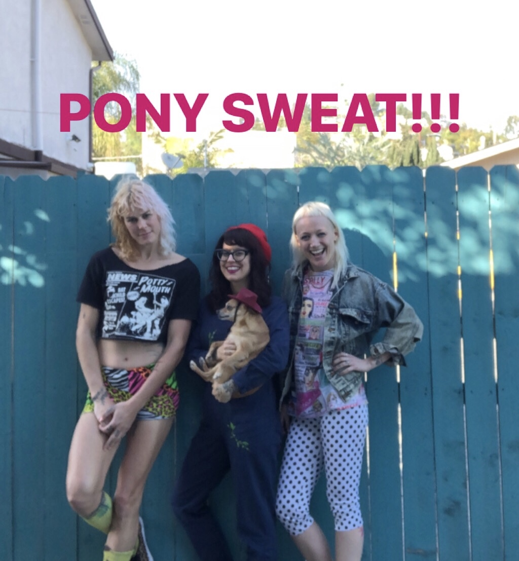 Episode #152-PONY SWEAT!!! Emilia Richeson & CJ Miller talk PUNK DANCE AEROBICS