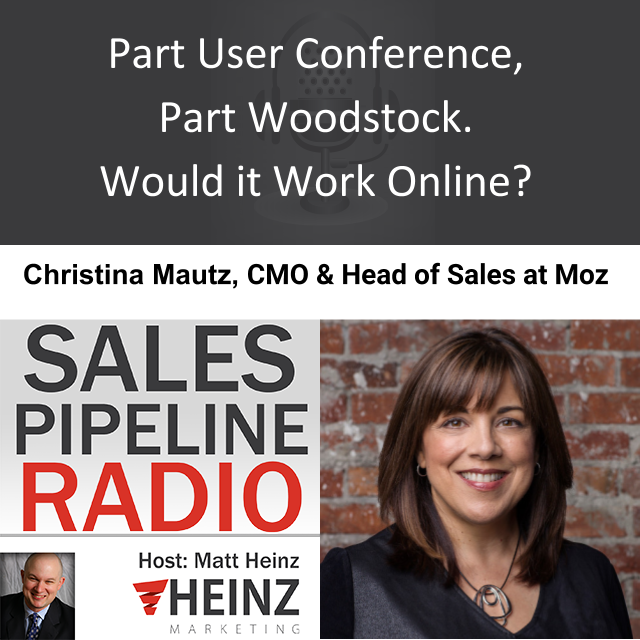 Part User Conference, Part Woodstock. Would it Work Online?