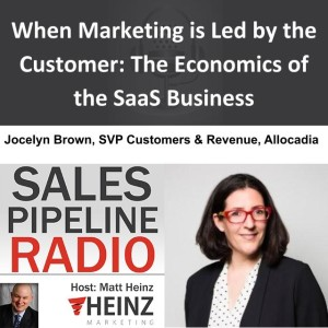 When Marketing is Led by the Customer: The Economics of the SaaS Business
