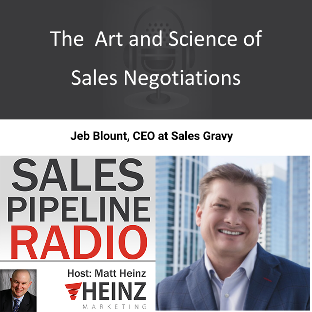 The Art and Science of Sales Negotiations with Jeb Blount