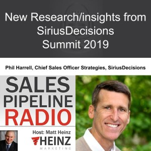 New Research/Insights from SiriusDecisions Summit 2019