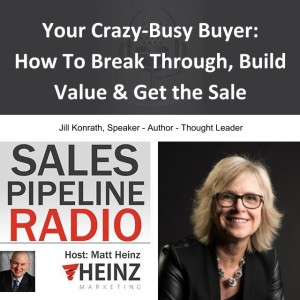 Sell Like A Girl - Jill Konrath Talks about Making More Sales in Less Time