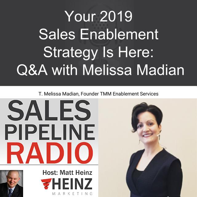 Your 2019 Sales Enablement Strategy Is Here: Q&A with Melissa Madian