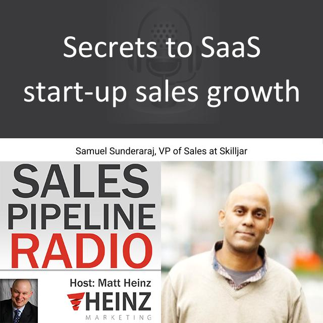 Secrets to SaaS Start-up Sales Growth